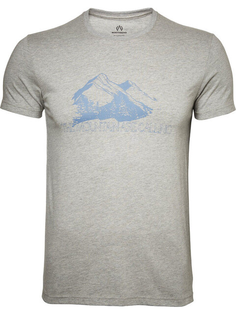 North Bend Vertical - T-shirt manches courtes Homme - gris